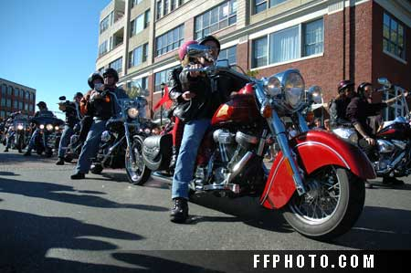 Salem Harley ride