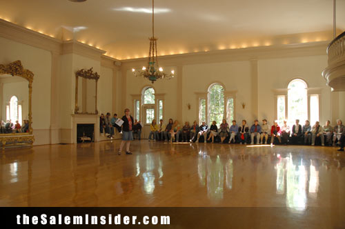 Hamilton Hall interior