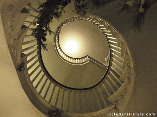 McIntire Staircase in The Emmerton House