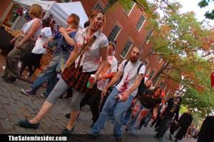 Salem MA Zombie Walk