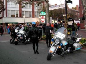 Cops on Halloween